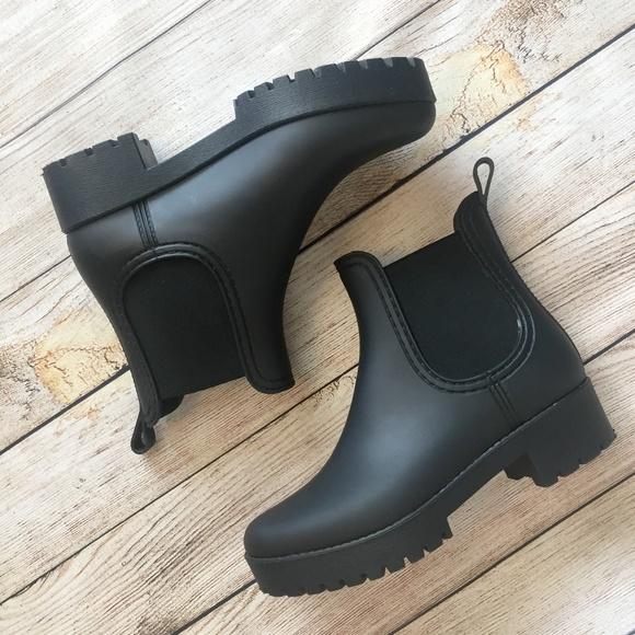 bcf4e4b84 Jeffrey Campbell Shoes - Jeffrey Campbell Cloudy Chelsea Rain Boot